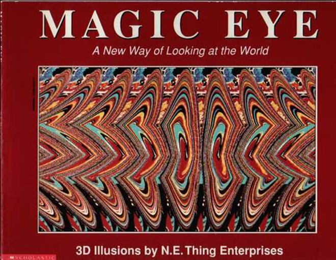 Libro Magic Eye ¿Quiere un TV 3D? Le revelamos los 6 mitos de esta tecnología