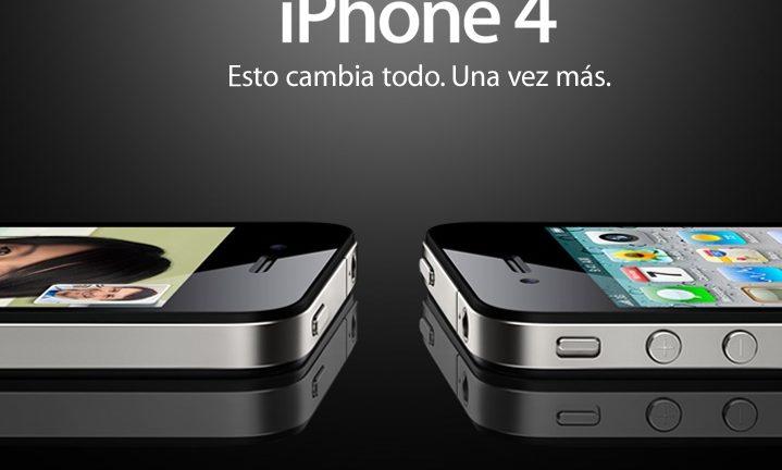 Pantalla de Apple iPhone 4