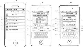 Gráfico de la patente de Apple
