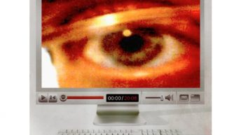 Computador, espionaje Internet.