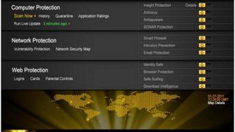 Norton 2011 Protection Map
