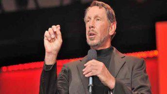 Larry Ellison, el fundador de Oracle nunca se come la lengua Foto: Flick via Oracle