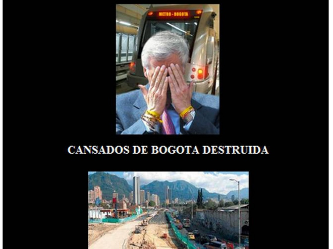 Hackers tienen en la mira al alcalde de Bogotá, Samuel Moreno