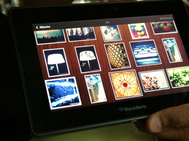 Llega el tablet PlayBook a Latinoamérica
