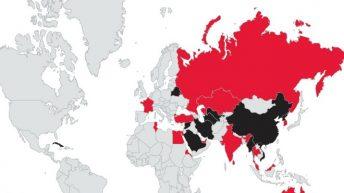 Los países enemigos de Internet