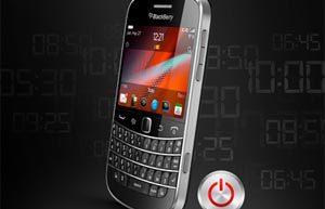 Apagar automáticamente su BlackBerry