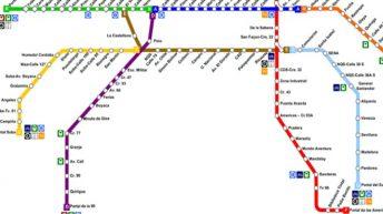 Mapa TransMilenio