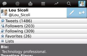 Twitter para BlackBerry 3.0