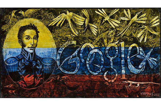 Doodle día de la independencia