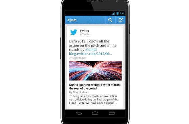 Nueva versión de Twitter