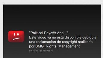 Video de Romney bloqueado