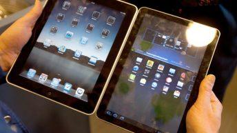 iPad vs. Samsung Galaxy Tab 10.1.