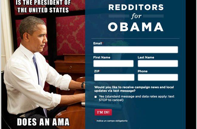 Redditors for Obama