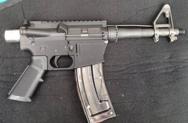 Rifle impreso en 3D