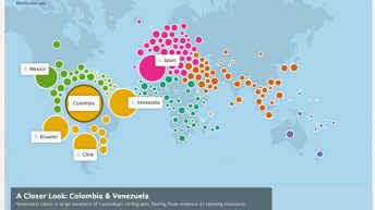 Mapa Mundial de Facebook