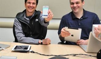 Smartphones en la oficina
