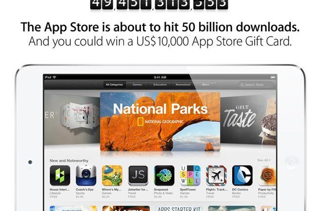 Contador de App Store