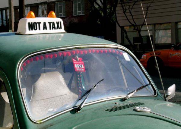 No un taxi