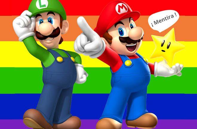 Mario y Luigi no son gays