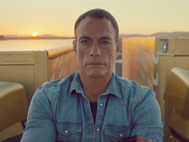 El 'épico split' de Jean Claude Van Damme (Foto: captura de pantalla).