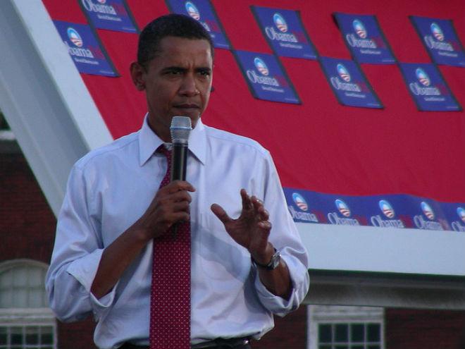 Obama le es fiel a BlackBerry, Foto: jamesomalley (vía Flickr)