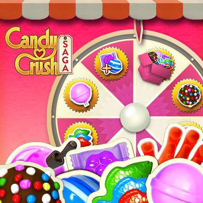 Candy Crush 5 Ruleta