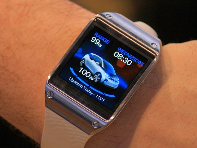 BMW i3 en el Galaxy Gear