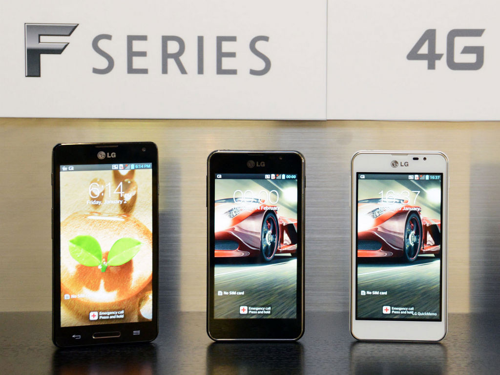 LG presentó ocho smartphones en el MWC 2014.