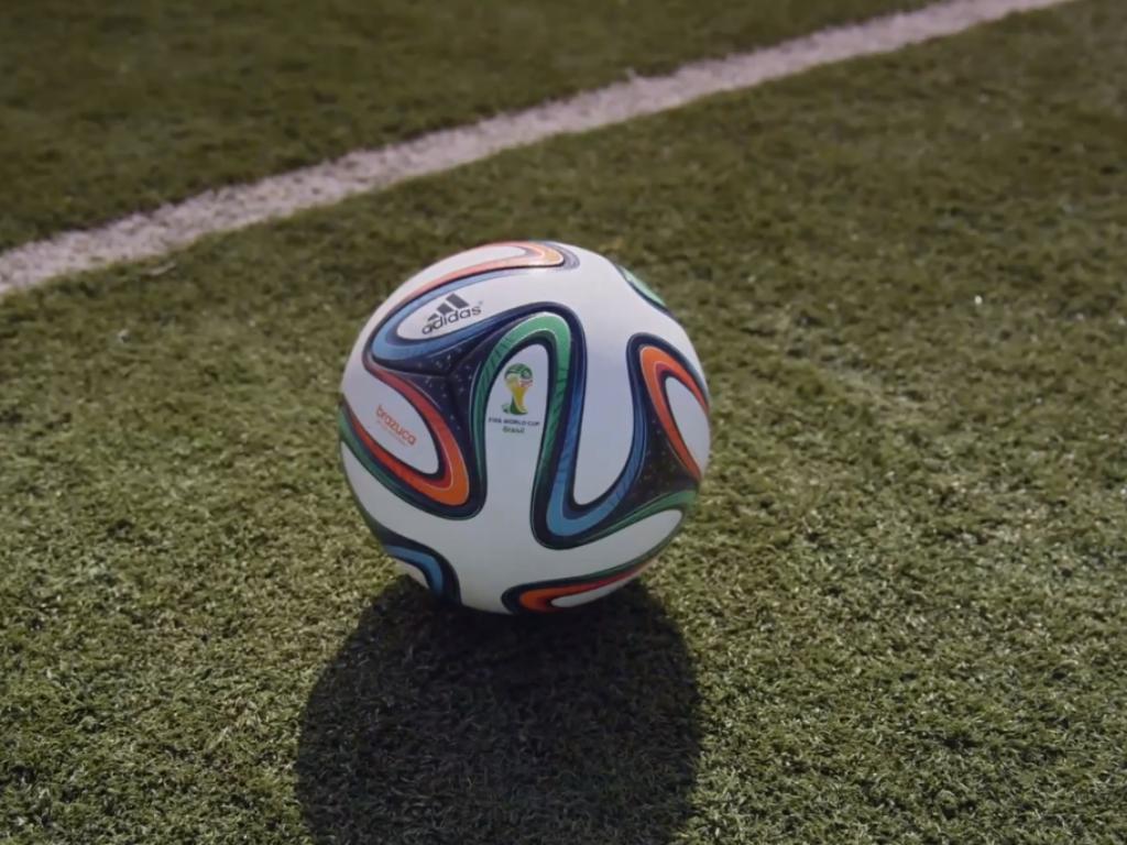 Así luce el balón del mundial.