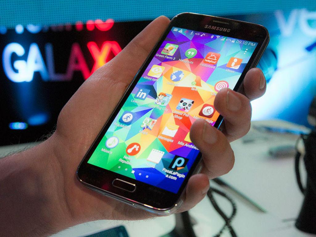 El Galaxy S5 es el nuevo buque insignia de Samsung.