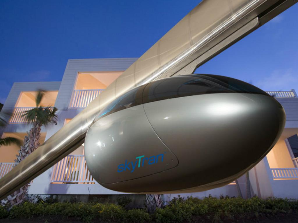 El transporte del futuo, SkyTran