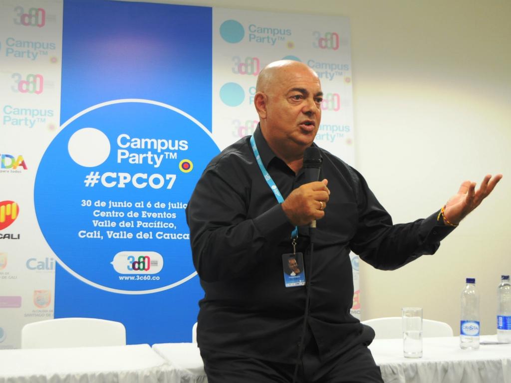 Dito di Bari en Campus Party