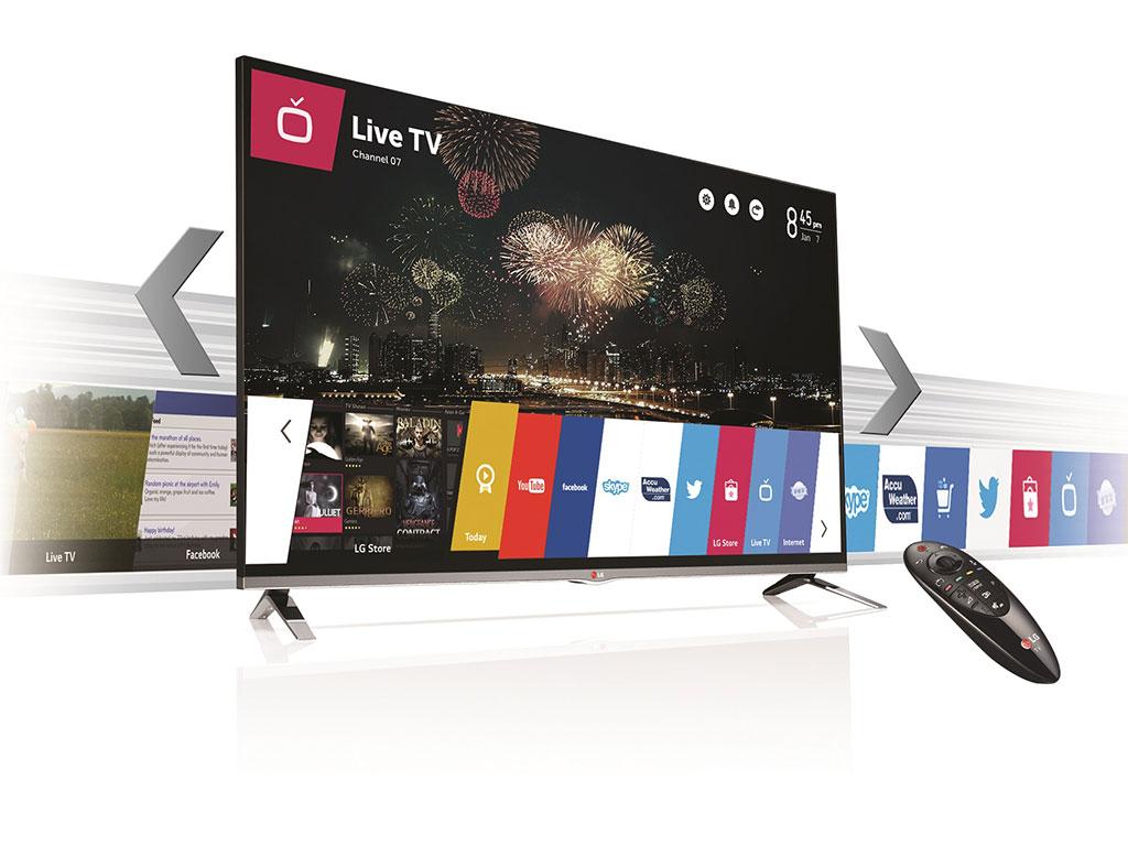 Televisores con Web OS
