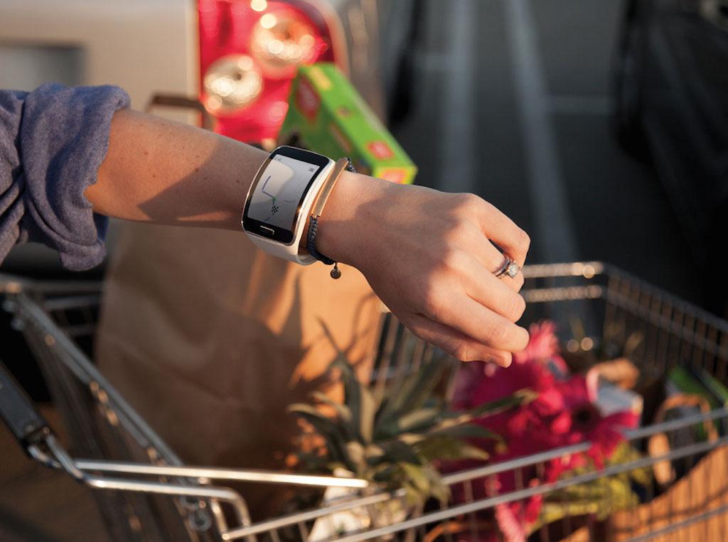 El Samsung Gear S, un smartwatch con conexión 3G.