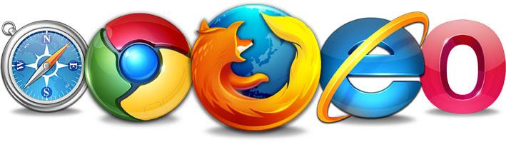 Tenga en cuenta que sus usuarios pueden llegar de cualquier navegador y sistema operativo