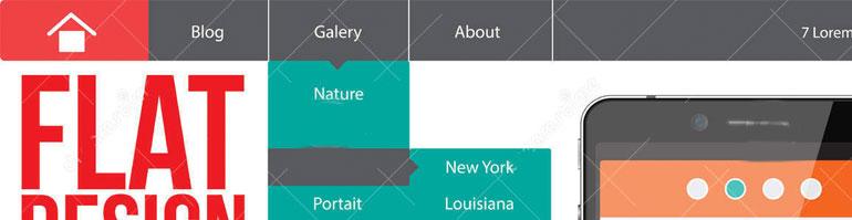 El logo de la empresa ubicado en la parte superior del sitio es tradicionalmente una guía para los visitantes
