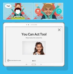 La aplicación de Samsung Look at me busca mejorar las habilidades de los niños con autismo.