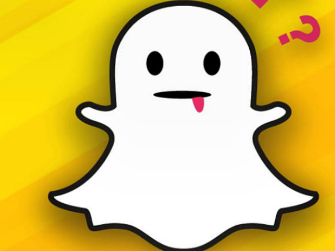 Snapchat te da noticias.