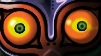 gameplay de majora's mask 3ds