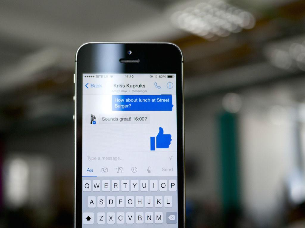 Facebook Messenger, competidor de WhatsApp, pero al fin de cuentas del mismo dueño.
