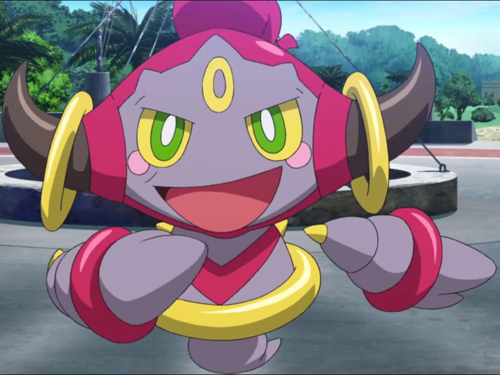 película de pokémon con hoopa