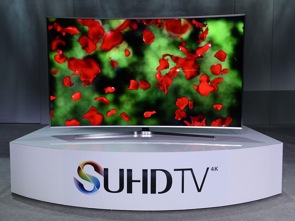 televisores SUHD de Samsung.