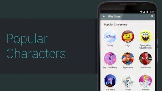 google i/o family star playstore