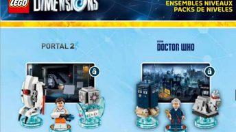 Set lego de Dr. Who y Portal