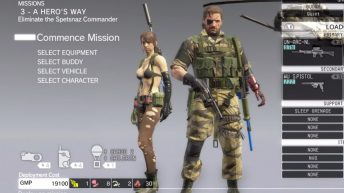 Gameplay Metal Gear Solid V