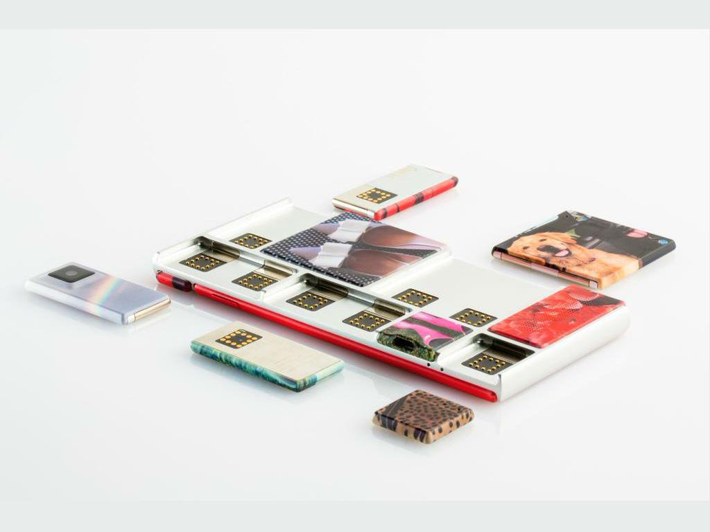 Los smartphones de Project Ara se pueden personalizar como el usuario escoja.