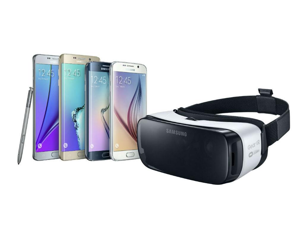 El Gear VR para consumidores es compatible con los más recientes equipos de gama alta de Samsung.