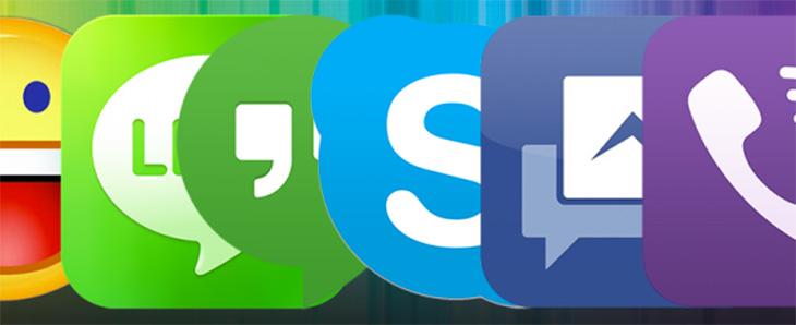 Cada día aparece una nueva app de mensajes.