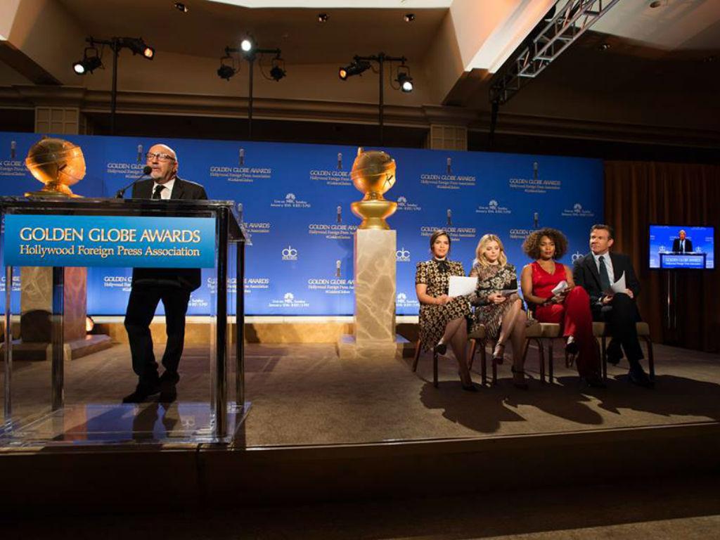 Los principales nominados de los Golden Globe.
