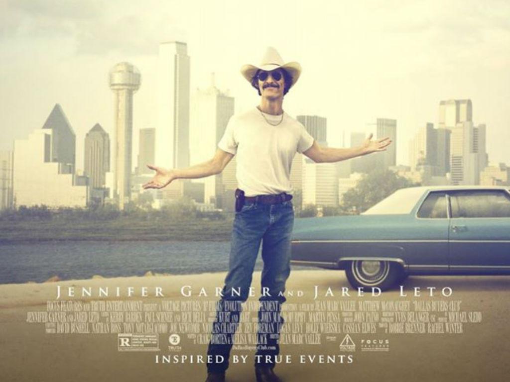 Dallas Buyers Club como uno de los grandes estrenos de febrero.